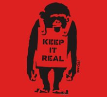 Banksy - Keep It Real Kids Clothes