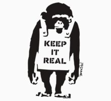 Banksy - Keep It Real Kids Tee