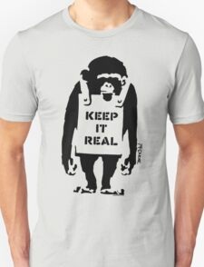Banksy - Keep It Real Unisex T-Shirt