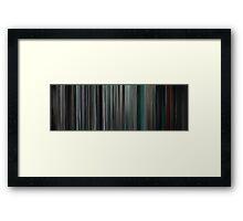 Moviebarcode: Insidious (2010) Framed Print