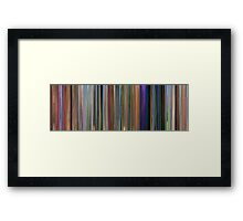 Moviebarcode: Meet the Robinsons (2007) Framed Print