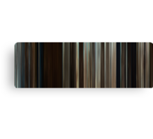 Moviebarcode: Where the Wild Things Are (2009) Canvas Print