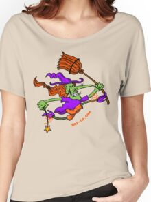 Crazy Witch Jumping Women's Relaxed Fit T-Shirt