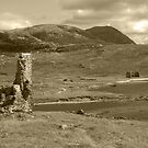 Historic Assynt in Sepia by kalaryder