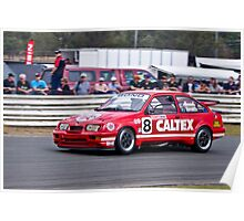 Colin Bond Ford Sierra RS500 Cosworth GpA Poster