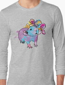 Watercolour Rattie Long Sleeve T-Shirt
