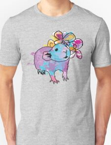 Watercolour Rattie Unisex T-Shirt