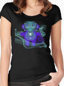 MUNKEY 7 (TOXIC TIME) Women's Fitted Scoop T-Shirt