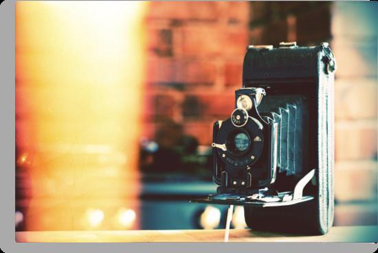vintage camera. by cavan michaelides