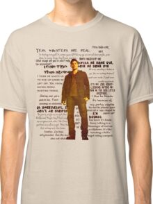Dean Winchester quotes - red Classic T-Shirt