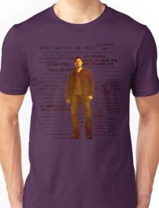 Dean Winchester quotes - red Unisex T-Shirt