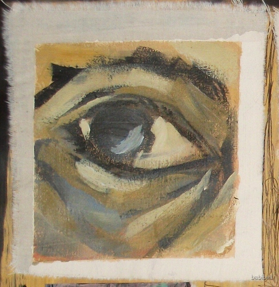 Painted Eye by Claire Dimond