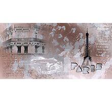 Paris Collage Photographic Print