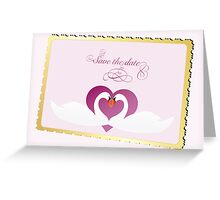 wedding announcement card  Greeting Card