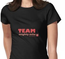 TEAM mighty mite coral Womens Fitted T-Shirt
