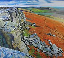 Stanage Edge 2 by Graham Clark