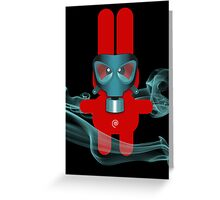 RABBIT 7 (TOXIC TIME) Greeting Card