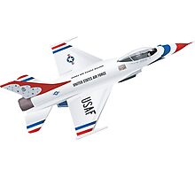 Thunderbirds Air Demonstration Team  Photographic Print