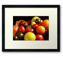Do You Love Tomatoes ? Framed Print