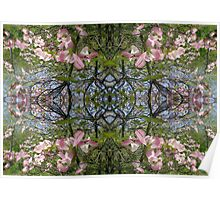 Kaleidoscope - Tree Series Blossom Poster