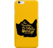 The Mountains Are Calling and Nairo Must Go  iPhone Case/Skin