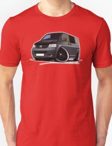 VW T5 (A) Grey T-Shirt