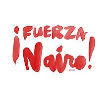 Fuerza Nairo Quintana : v2 - Red Script Photographic Print