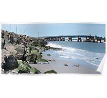Bridge across the inlet Poster