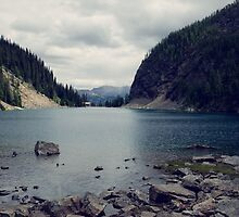 Lake Agnes by lost-or-found