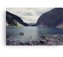 Lake Agnes Metal Print