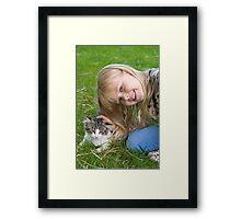 Show Kindness Framed Print
