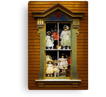Dollhouse Gothic Canvas Print