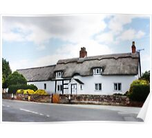 Orton Effects Cottage Poster