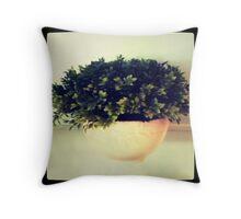Greenage Throw Pillow