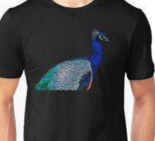 This is a Peacock Unisex T-Shirt