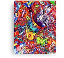Dr. Suess Space Dump Canvas Print