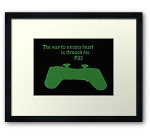 The Way To A Mans Heart . . . . Framed Print