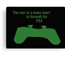 The Way To A Mans Heart . . . . Canvas Print