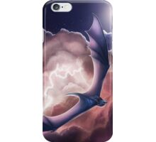 Lightning Dragon - Riding the Electric Waves iPhone Case/Skin
