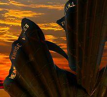 Aldeburgh Scallop Sunrise by Darren Burroughs