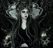 Queen of Darkness by heliakin