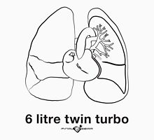 Six Litre Twin Turbo (light shirt) T-Shirt