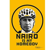 Nairo is My Homeboy : TDF Yellow Photographic Print