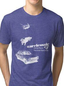 Careless Air (dark shirt) Tri-blend T-Shirt