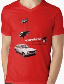 Careless Air Mens V-Neck T-Shirt