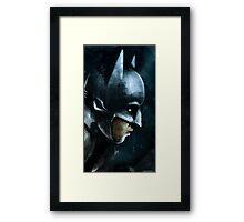 Gotham's Guardian Framed Print