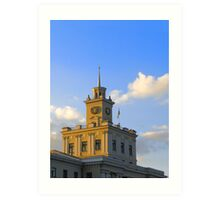 Administrative building Art Print