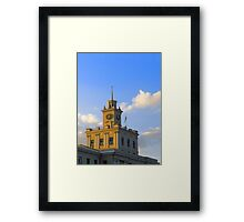 Administrative building Framed Print