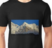 Silberhorn in the afternoon sun Unisex T-Shirt