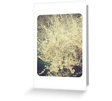 Blurred Memories & Forsythia Blossoms part II Greeting Card
